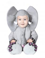 Kostume elefant grå til baby