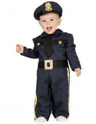 Politibetjentkostume til babyer