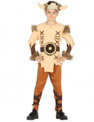 Kostume viking beige til drenge