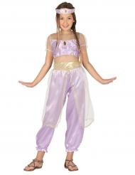 Kostume ørkenprinsesse lilla til piger