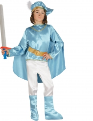Kostume prins i tyrkis til drenge