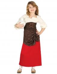 Eleonora middelalderkostume til piger