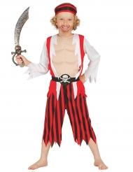 Kostume muskuløs pirat til drenge