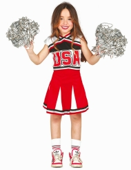 Kostume pompom girl USA