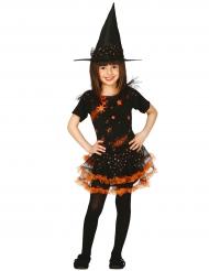 Stjerne heksekostume til piger - Halloween kostume