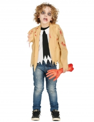 Zombie uden arm - Børne kostume til Halloween