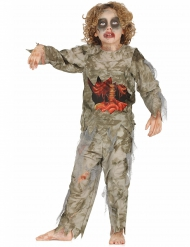 Halloween zombie kostume til drenge