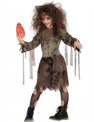 Halloween zombie kostume til piger