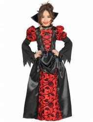 Vampyrkostume til piger - Halloween