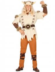 Kostume beige viking til mænd