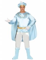 Kostume blå prins til mænd