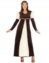 Middelalder prinsessekjole til kvinder