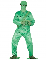 Kostume lille soldat i grøn