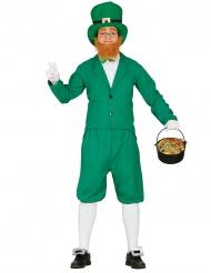 Kostume grøn leprechaun til mænd