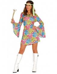 Kostume farverig hippie til kvinder