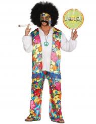 Cool hippiekostume til mænd