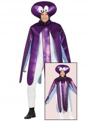 Kostume lilla blæksprutte til voksne