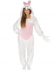 Kostume heldragt kanin til voksne