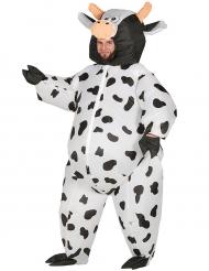 Kostume maxi oppustelig ko til voksne