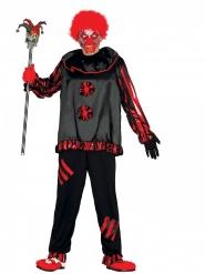 Skørt Halloween klovnekostume til voksne