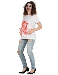 Blodig Halloween t-shirt til kvinder