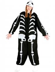 Kostume skelet til voksne Halloween