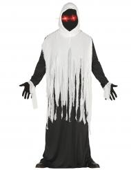 Døden kostume med lysende øjne - Halloween kostume til voksne