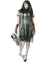 Kostume lille dukke til kvinder Halloween