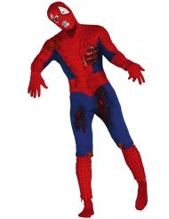 Kostume zombie edderkoppemand til voksne Halloween