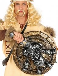 Skjold og sværd skelet til vikinger 57 cm