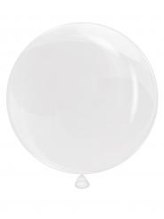 Ballon gennemsigtig kugle 90 cm