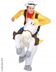 Kostume Carry Me Jolly Jumper til voksne - Lucky Luke™