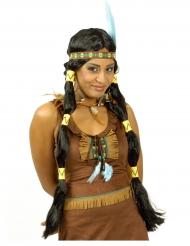 Paryk lang indianer squaw til kvinder