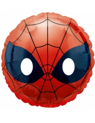 Ballon aluminium Spiderman™ Emoji™ 43cm