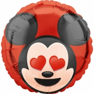 Ballon aluminium Mickey Mouse™ Emoji™ 43 cm