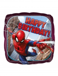 Ballon aluminium Spiderman™ Happy Birthday 43 cm