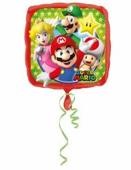 Ballon aluminium Mario Bros™ 43x43 cm