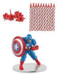 Fødselsdagslys kit Captian America™