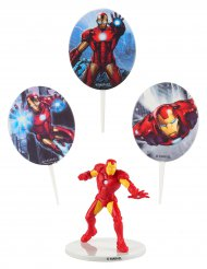 Kage dekorationskit Iron Man™