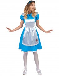 Kostume Alice fra drømmeland til kvinder