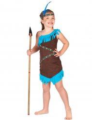 Kostume indianer piger i brun