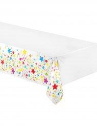Plastikdug farverig 130 x 180 cm