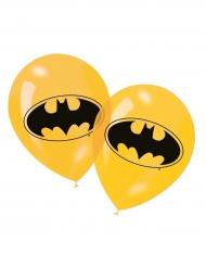 6 Gule latexballoner med Batman™
