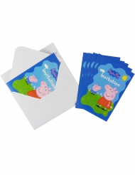 Gurli Gris™ invitationskort med konvolutter
