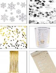 Dekorations pakke stjerner