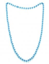 Perlehalskæde blå til voksne
