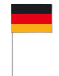 Papirflag Tyskland 14 x 21 cm