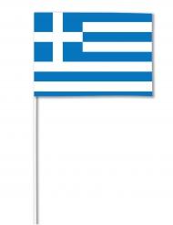 Flag papir grækenland 14 x 21 cm