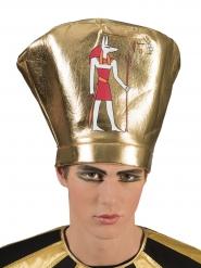 Hovedbeklædning egyptisk konge til voksne