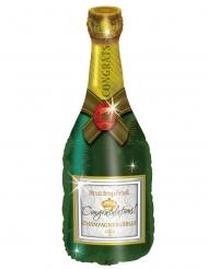 Ballon aluminium Champagneflaske 94 cm